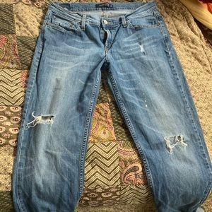 Levi's low rise jeans